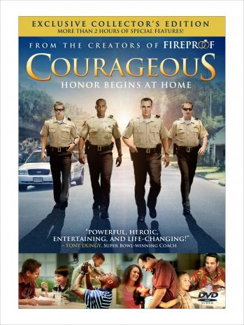 COURAGEOUS is NUMBER ONE in DVD SALES!