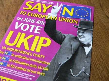 UKIP has a BREAKOUT TURNOUT in UK local elections!