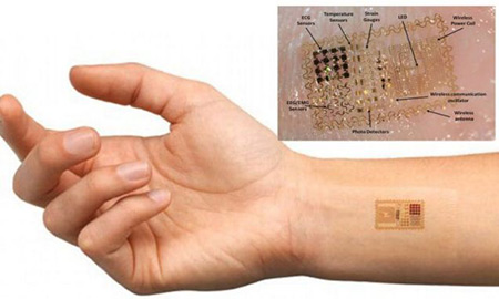MARK OF THE BEAST: Motorola Unveils Microchip Tattoo