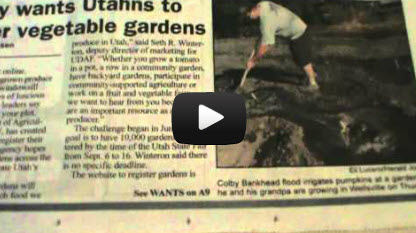 Utah wants to Register Gardens! Agenda 21?