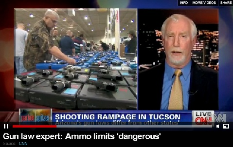 Alan Korwin on CNN - Tucson Shooting