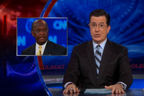 Pro-Stephen Colbert Super PAC: 'A Vote For Herman Cain Is A Vote For America'