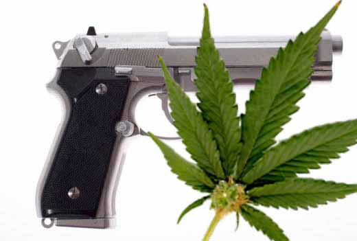 Medical Marijuana? No Guns For You!