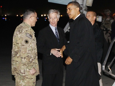 Obama Unexpectedly Arrives In Afghanistan, And Will Deliver A Big Primetime Speech To The Nation
