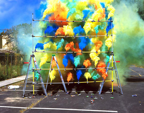 How to Make a Colored Smoke Bomb