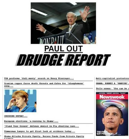 Ron Paul ends his hunt for votes