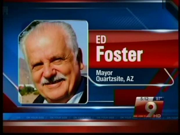 Court orders Ed Foster seated as Mayor of Quartzsite