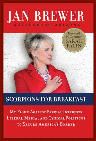 Arizona Governor Jan Brewer Book Signing!