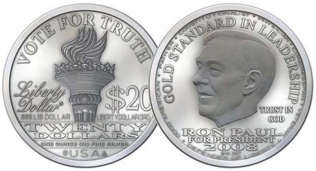 FBI and Secret Service Seize Over 2 Tons of Ron Paul Liberty Dollars - They also took all the gold,