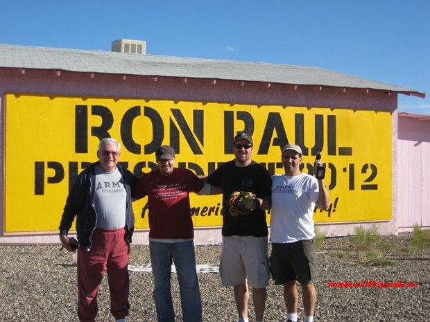 First Ron Paul 2012 Billboard