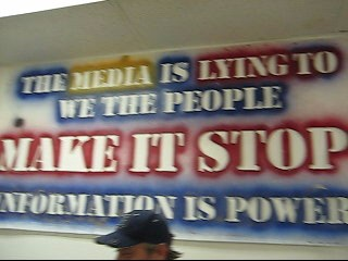 Information is power the media is lying to we the poeple