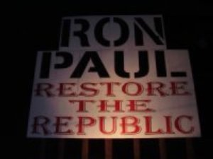 Another Ron Paul billboard