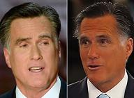 Mitt Romney magically becomes