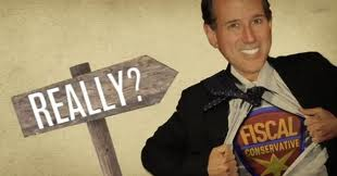 New Ron Paul Ad for Michigan - Rick Santorum a Conservative?