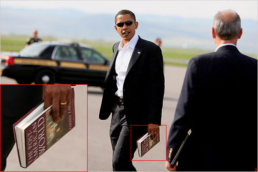 What is Obama reading?