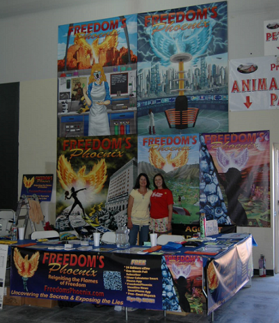 Freedom's Phoenix will be at the PrepperFestAZ from Friday April 26th thru Sunday April 28th, 2013