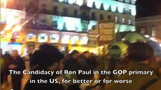 SPAIN FOR RON PAUL *Original Video*