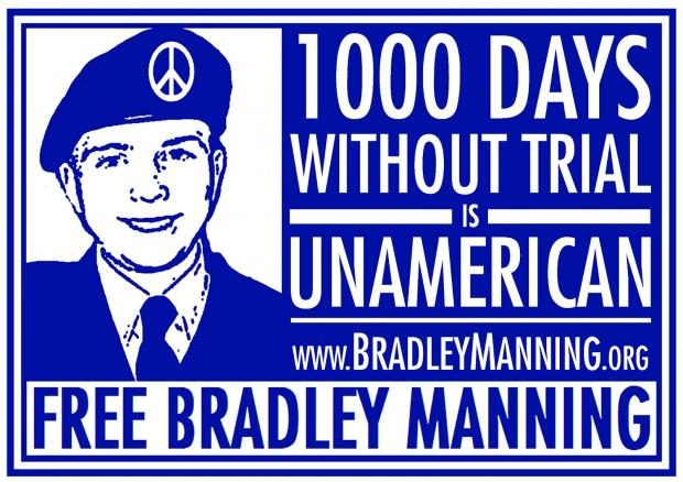 Libertarians Organizing Virtual National Torch Parade for Bradley Manning