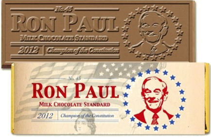 Ron Paul Chocolate Bar teams up with PaulFest for special ticket promotion!