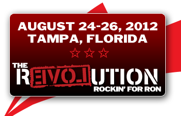 Ron Paul Festival - August 24-26, 2012 - Florida State Fairgrounds - Tampa, Florida
