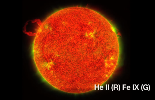 First STEREO Image of Sun