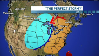 Frankenstorm Arriving Next Week