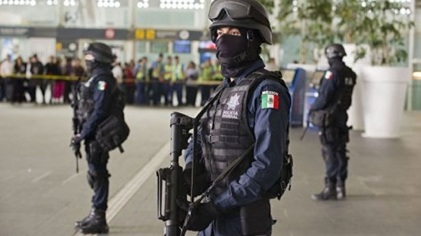 Three police shot dead at Mexico City airport