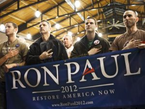 Why Does the Military Love Ron Paul?