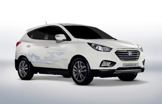 First Mass-Produced Hydrogen Cars Roll Out