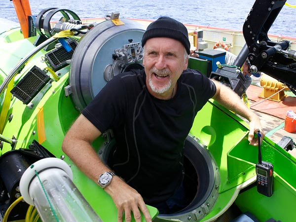 James Cameron on Earth's Deepest Spot: Desolate, Lunar-Like