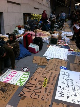 NYPD Raid Occupy's Sleep-In Protest
