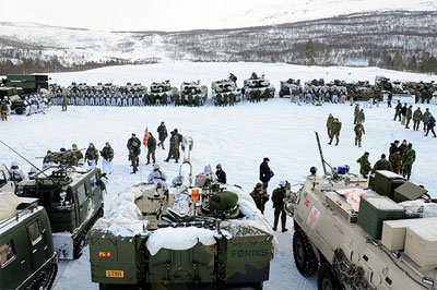 TOP OF THE WORLD: NATO Rehearses For War In The Arctic