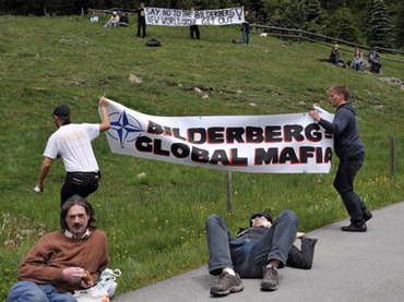 Occupy Bilderberg faces off with secretive gathering