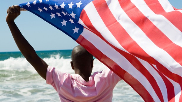 Virginia 13-year-old suspended after he �touched the flag�