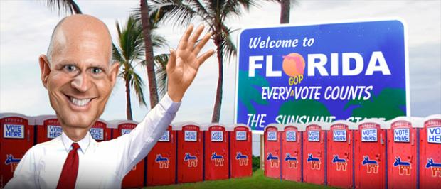 Rick Scott's Plan to Purge Florida Voter Lists Moves Forward