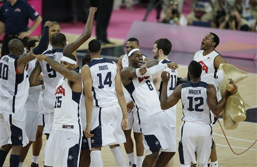 U.S. basketball team defeats Spain to win Olympic gold medal