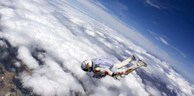 The Physics of the Red Bull Stratos Jump