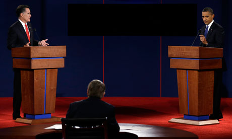 The US presidential debates' illusion of political choice