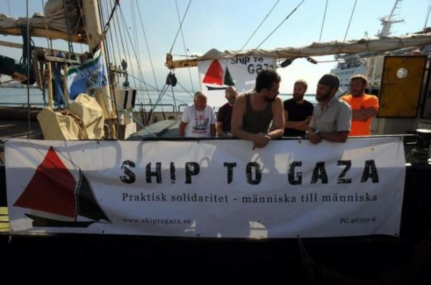 Israel threatens action against Gaza aid ship