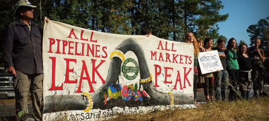 'Time is Now to Make a Stand': Tar Sands Pipeline Blockade Grows as Company Lashes Out