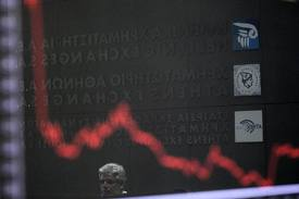 The Greek Stock Market Is Getting Smoked Today