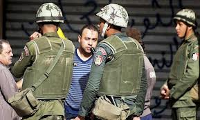 Egypt army given temporary power to arrest civilians