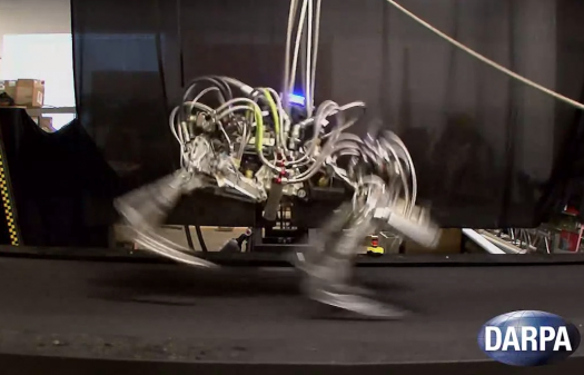 DARPA's Cheetah Sets a Land-Speed Record for Running Robots