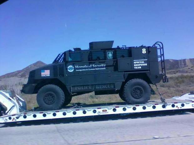 Homeland Security Unveils Monstrous SWAT Trucks