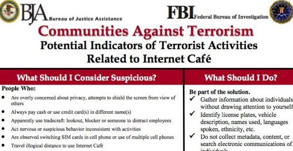 CBS Runs Defense For �Everyone�s a Terrorist� FBI Flyers
