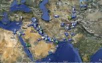 Map: US bases encircle Iran