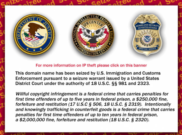 Feds Seized Hip-Hop Site for a Year, Waiting for Proof of Infringement