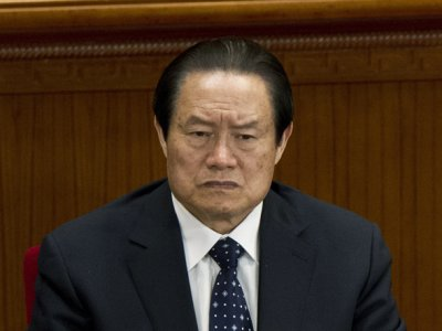 It Looks A Lot Like China's Security Head Is About To Be Ousted