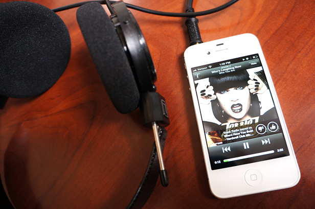 Review: Spotify's Mobile Internet Radio