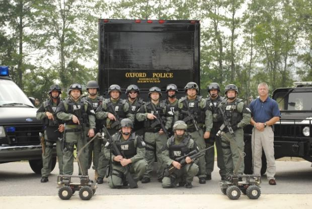 Small-Town Cops Pile Up on Useless Military Gear